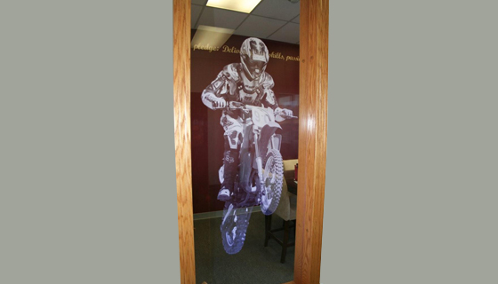 Edge Lighting - Motocross Pocket Window