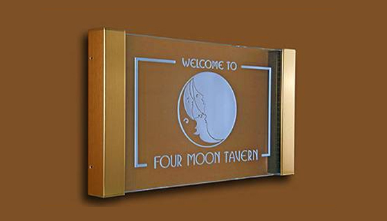 Signage - Four Moon Tavern