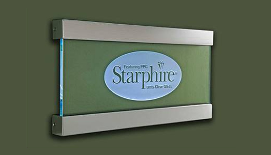 Edge Lighting - Starphire Wall Mount